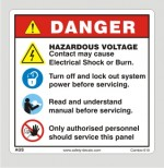 Safety Sign For electricals