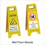 Wet Floor sign stands